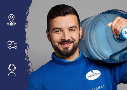 Livraison d'eau en entreprise