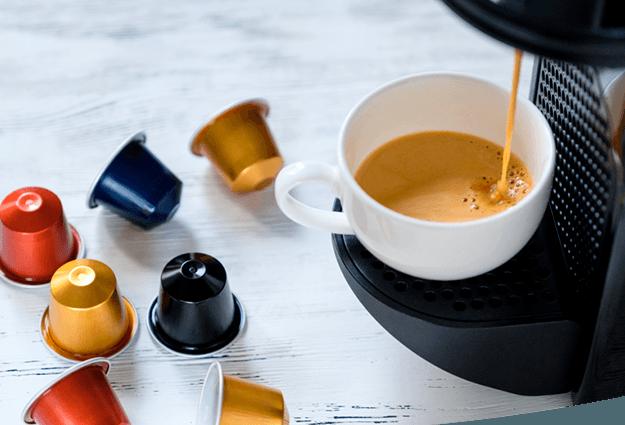 Machines à café capsules pour entreprises