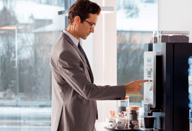Grains de café pour entreprises