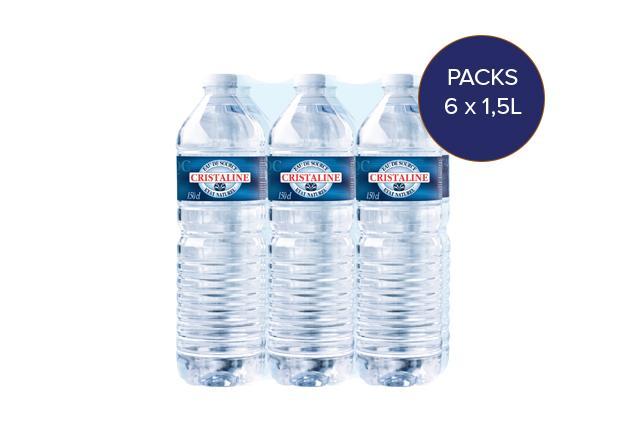 Pack d'eau de source pour entreprises
