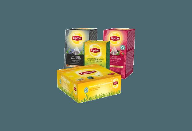 Gammes thés Lipton pour entreprises